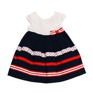 NWT Maggie & Zoe Dress with Bottoms Girl Size 12mo
